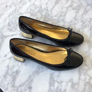 Patent leather Lauren Ralph Lauren bow flats